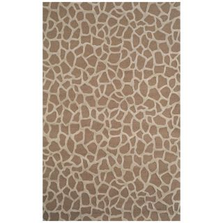 Trans Ocean Seville Giraffe Area Rug   Taupe   Area Rugs