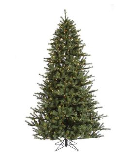 Carver Frasier Pre lit Christmas Tree   Christmas