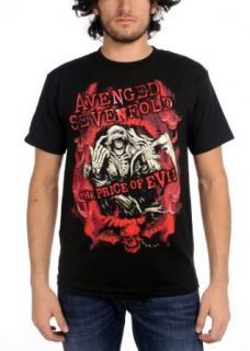 Avenged Sevenfold     Flame Reaper Limited Tour Shirt Men's T Shirt in schwarz, X Large, Black Bekleidung