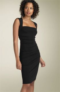 Nicole Miller Open Back Jersey Sheath Dress