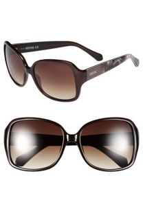 Kenneth Cole Reaction 58mm Square Sunglasses