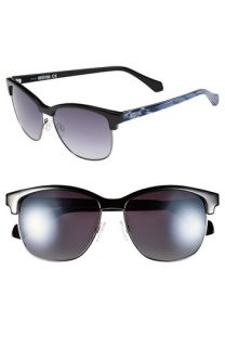 Kenneth Cole Reaction Clubmaster 57mm Sunglasses
