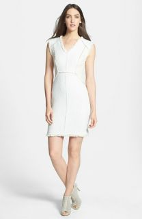 Rebecca Taylor Tweed Sheath Dress