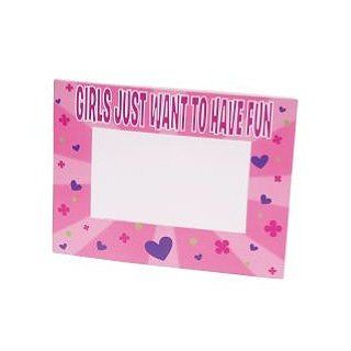 Girls Want To Have Fun Photo Frames 12 pc Toys & Games