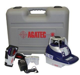 Agatec CL185 GC Self Leveling Cone Laser with Laser Detector