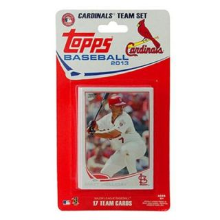 St. Louis Cardinals 2013 Team Collectible Trading Card Set