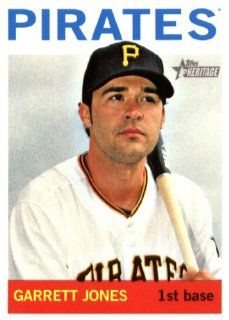 2013 Topps Heritage MLB Trading Card # 193 Garrett Jones Pittsburgh Pirates Sports Collectibles
