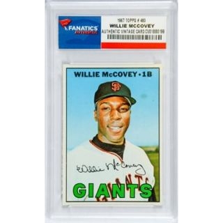 Willie McCovey San Francisco Giants 1967 Topps #480 Card