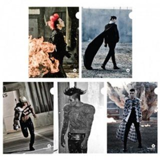 [YG Official MD] Big Bang 2012 Still Alive Clear File Set