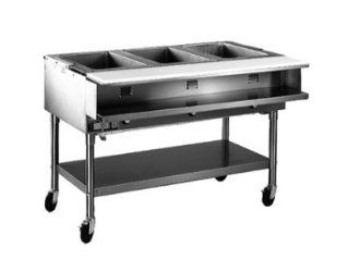 "Eagle Group SPHT5 208 81.5"" Portable Hot Food Table   (2) 12x20"" Sealed Wells, 208v, Each Kitchen & Dining"