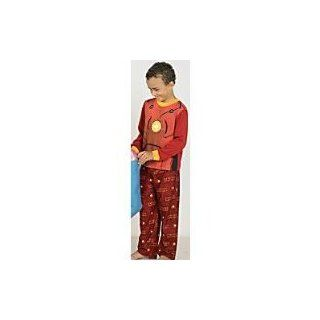 Iron Man Pajamas/Iron Man Light Up Pajamas/Iron man 2 Piece Sleepwear/Shirt/Top/Pants