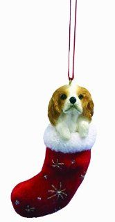 E&S Pets ORN221 18 Santa's Little Pals Christmas Ornaments, Cavalier King Charles Spaniel  Cavalier King Charles Spaniel Gifts