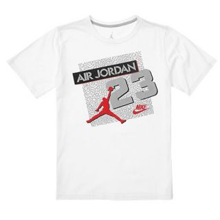 Jordan Retro 5 23 Archive T Shirt   Boys Grade School   Basketball   Clothing   Black/Fire Red