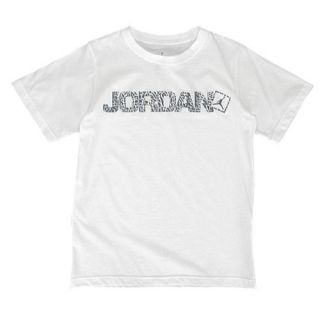Jordan Go Two Three Ele Foil T Shirt   Boys Grade School   Basketball   Clothing   White/Wolf Grey