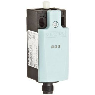 Siemens 3SE5 234 1CC05 1AF3 Mechanical Position Switch, Complete Unit, Plastic Enclosure, 31mm Width, Rounded Plunger, M12 Connector Socket, 5 Pole, 2 LEDs, Snap Action Contacts, 1 NO + 1 NC Contacts, 24VDC LED Voltage Electronic Component Limit Switches