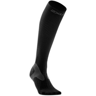 2XU Elite Graduated Compression Socks   Womens   Running   Accessories   Black/Grey