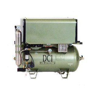 DC Series Deluxe Oil Less Air Compressor 10 User/ 3 HP / Triple Head/ 30 Gallon Tank/ 230 Vac