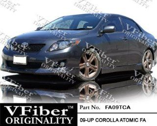 2009 2010 Toyota Corolla 4dr Body Kit Atomic Front Bumper Lip Automotive