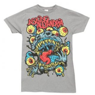 Asking Alexandria Eyeball Monster Rock Band Adult Slim Fit T Shirt Tee Clothing