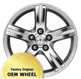 PONTIAC VIBE 17x7 5 SPOKE Factory Oem Wheel Rim  MACHINED FACE SILVER   Remanufactured Automotive
