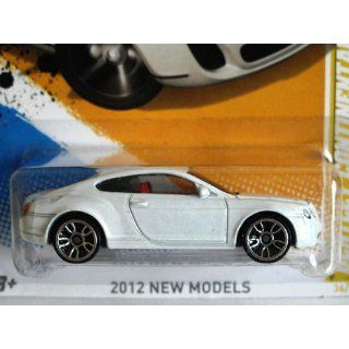 Hot Wheels 2012 Bentley Continental Supersports WHITE, 36/247, New Models. 164 Scale. Toys & Games