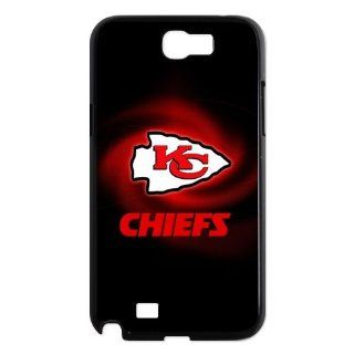 NFL Kansas City Chiefs Samsung Galaxy Note 2 N7100 Hard Case Cover With Slim Styles KC Chiefs Cell Phones & Accessories
