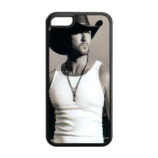Country Music Singer Tim Mcgraw TPU Inspired Design Case Cover Protective For Iphone 5c iphone5c NY263 Cell Phones & Accessories