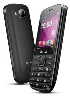 BLU Diva T272T Unlocked GSM Phone with Dual SIM, VGA Camera + LED Flash, Bluetoo Cell Phones & Accessories