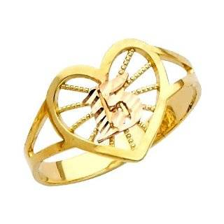 """15 Anos"" Yellow Gold Ring(10K) Jewelry"