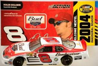 Action   NASCAR   Dale Earnhardt Jr #8   2004 Chevy Monte Carlo   Budweiser / NEXTEL Paint   Nextel Inaugural Season   124 Scale   Die Cast   Limited Edition   Collectible Toys & Games