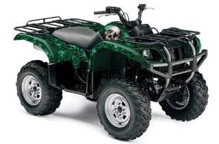 AMR Racing Yamaha Grizzly 660 ATV Quad Graphic Kit   Bone Collector Green Automotive