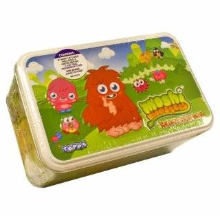 Topps Moshi Monsters Trading Card Game Tin Set Toys & Games