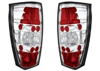 Cadillac Escalade EXT 2002 2003 2004 2005 2006 Tail Lamps, Crystal Eyes/Crystal Clear/1 pair Automotive