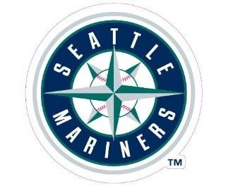 Seattle Mariners Team Auto Window Decal (12 x 10  inch) Sports & Outdoors