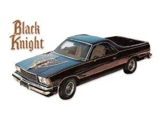 1978 Chevrolet El Camino Black Knight Decals & Stripes Kit   GOLD Automotive