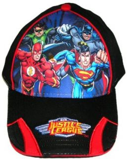 Justice League Hat Superman Flash Green Lantern Batman Clothing