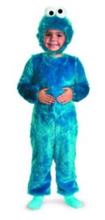 Sesame Street Cookie Monster Comfy Fur Child Costume Clothing