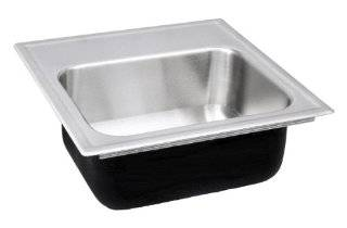 Just SBL 1515 A GR 2 (4OC) Single Bowl 18 Gauge T 304 Stainless Steel Commercial Grade Bar Sink