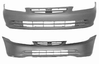 2001 Honda Accord Front Bumper Painted PB73P�Midnight Purple Pearl,�For�Sedan Models Automotive