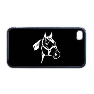 Quarter Horse Apple iPhone 4 or 4s Case / Cover Verizon or At&T Phone Great Gift Idea Cell Phones & Accessories