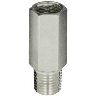 "Parker 46300146 Stainless Steel 316 Pressure Relief Valve with FKM Seal, 1/4"" NPT Male x 1/4"" NPT Female, 10 20 psig"
