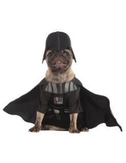 costume accessories   Cat & Dog Costume Darth Vader Large Clothing