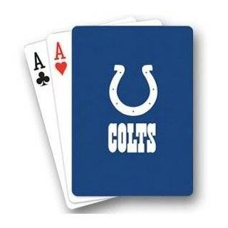 Toy / Game PSG NFL Indianapolis Colts Quality Playing Cards   Great Stocking Stuffer (Made in China) Toys & Games