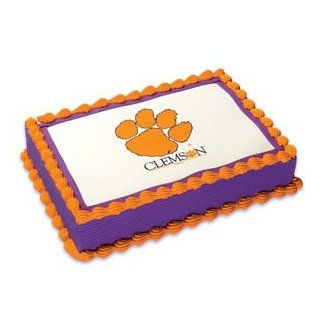 NCAA Clemson University ~ Edible Cake Image Topper