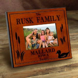 Wedding Favors Personalized Cabin Series Wood Duck Picture Frame Health & Personal Care