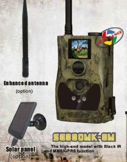 ScoutGuard SG880MK 8M Black IR Wireless MMS/GPRS Long Range Outdoor Trail Scouting Hunting Game Camera  Point And Shoot Digital Cameras  Camera & Photo