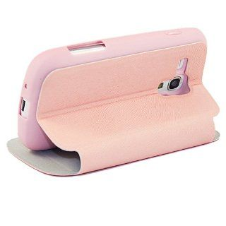 (TRAIT) Pink Silica?Gel Leather Cases For Samsung S7562 Galaxy Trend Duos Protective Skin Covers Cell Phones & Accessories