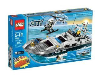 LEGO City Police Boat Toys & Games