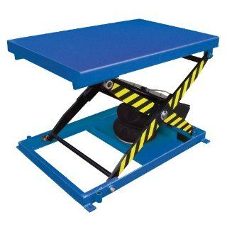 "Beacon Heavy Duty Air Bag Scissor Lift Table; Platform Size (Width x Length) 48"" x 32""; Uniform Capacity (lbs) 1000; Raised Height 33""; Lowered Height 9""; Net Wt (Pounds) 331; Model# BABLT 1000"