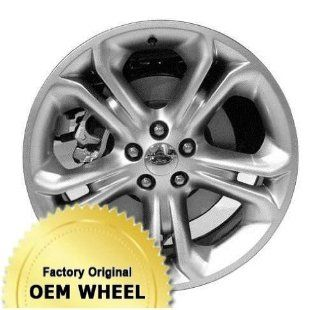 FORD EXPLORER 20x8.5 5 SPLIT SPOKES Factory Oem Wheel Rim  HYPER SILVER   Remanufactured Automotive